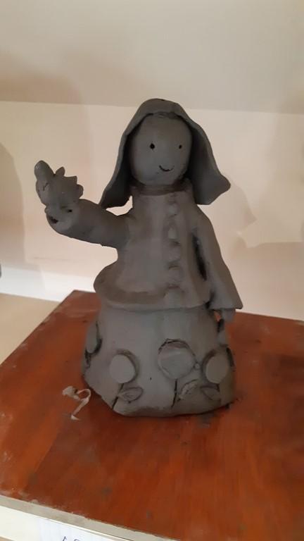 Sculpture enfant